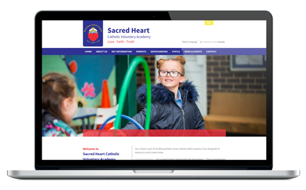 Sacred Heart Primary School website
